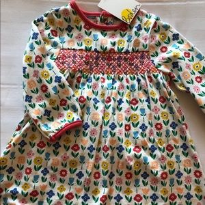 NWT Baby Boden floral dress